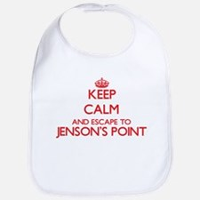 Keep calm and escape to Jenson'S Point Texas Bib