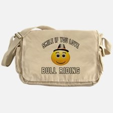 Bull Riding Cool Designs Messenger Bag