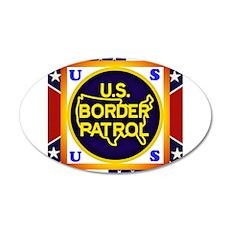 U. S. Border Patrol Wall Decal