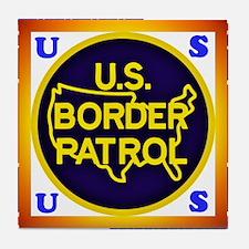U. S. Border Patrol Tile Coaster