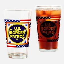 U. S. Border Patrol Drinking Glass