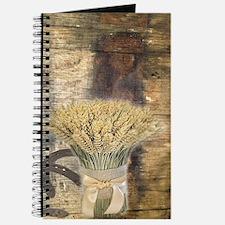 barn wood wheat horseshoe Journal