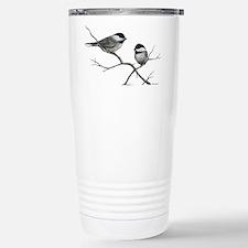 chickadee song bird Travel Mug