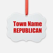 Republican Ornament