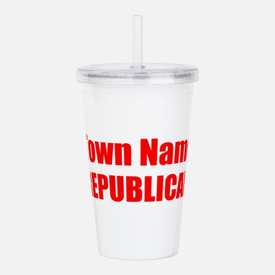 Republican Acrylic Double-wall Tumbler