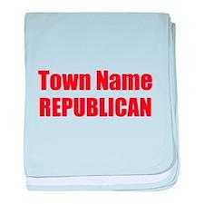 Republican baby blanket