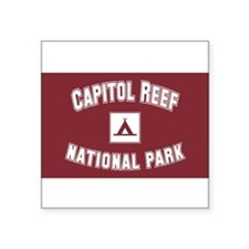 "Unique National forests Square Sticker 3"" x 3"""