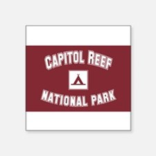"Cute Capitol Square Sticker 3"" x 3"""