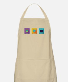 Peace, Love, Colorado Apron