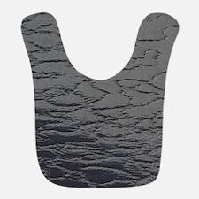 Dark Gray Leather Bib