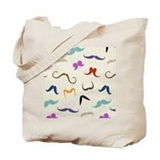 mustaches Tote Bag