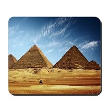 Egyptian Pyramids and Camel Mousepad