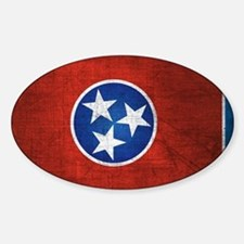 Tennessee State Flag Decal