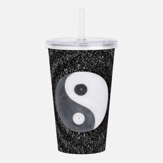 Yin Yang Acrylic Double-wall Tumbler