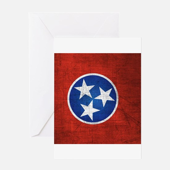 Tennessee State Flag Greeting Cards