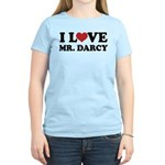 I Love Mr. Darcy Women's Light T-Shirt
