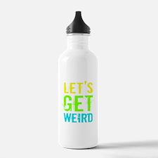 Get Weird Sports Water Bottle