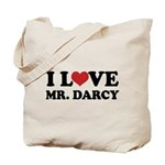 I Love Mr. Darcy Tote Bag