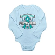 PKD For My Hero Long Sleeve Infant Bodysuit
