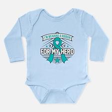 PTSD For My Hero Long Sleeve Infant Bodysuit