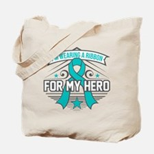 PTSD For My Hero Tote Bag