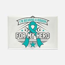 PTSD For My Hero Rectangle Magnet