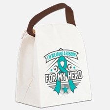 PCOS For My Hero Canvas Lunch Bag