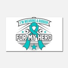 PCOS For My Hero Car Magnet 20 x 12