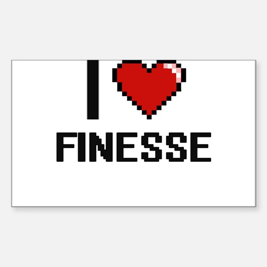 I love Finesse Decal