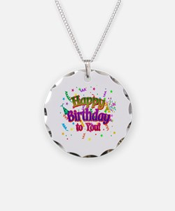 Happy Birthday To You Necklace