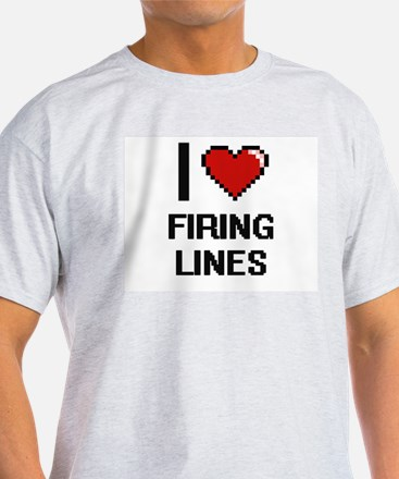 I love Firing Lines T-Shirt