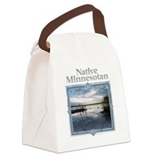 Unique Twin cities Canvas Lunch Bag