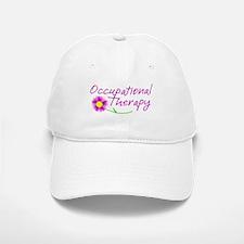 Occupational Therapy Hand Flower Baseball Baseball Baseball Cap