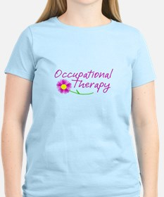 Occupational Therapy Hand Flower T-Shirt