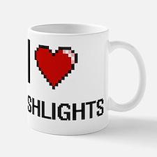 Unique I love lamp Mug