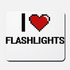 I love Flashlights Mousepad