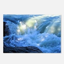 White Water Rapids, Alber Postcards (Package of 8)