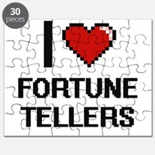 I love Fortune Tellers Puzzle