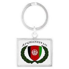 Cute Afghanistan Landscape Keychain