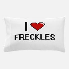 I love Freckles Pillow Case