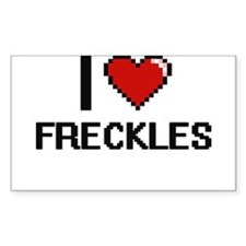 I love Freckles Decal