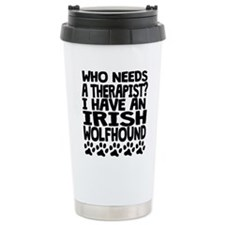 I Have An Irish Wolfhound Travel Mug