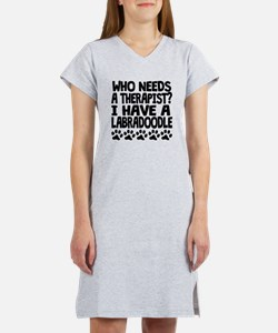 I Have A Labradoodle Women's Nightshirt