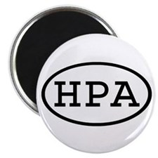 HPA Oval Magnet