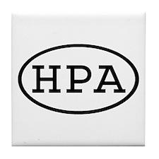 HPA Oval Tile Coaster