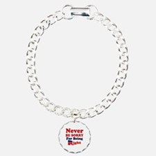 REPUBLICAN - NEVER BE SO Charm Bracelet, One Charm