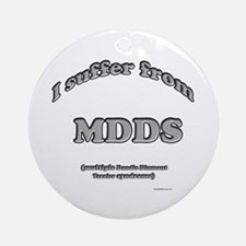 Dandie Syndrome Ornament (Round)