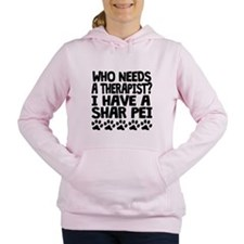 I Have A Shar Pei Women's Hooded Sweatshirt