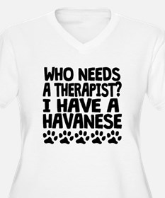 I Have A Havanese Plus Size T-Shirt