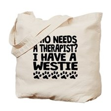 I Have A Westie Tote Bag